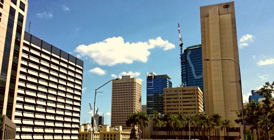 Extreme contrasts in subtropical Brisbane
