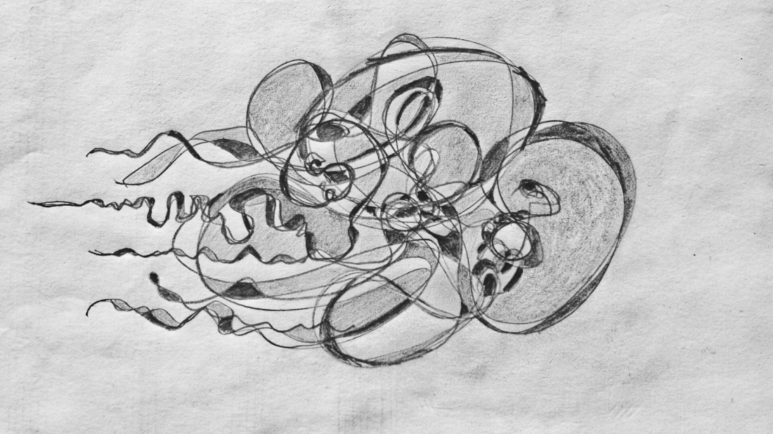 Unravelling Graphite Sketch