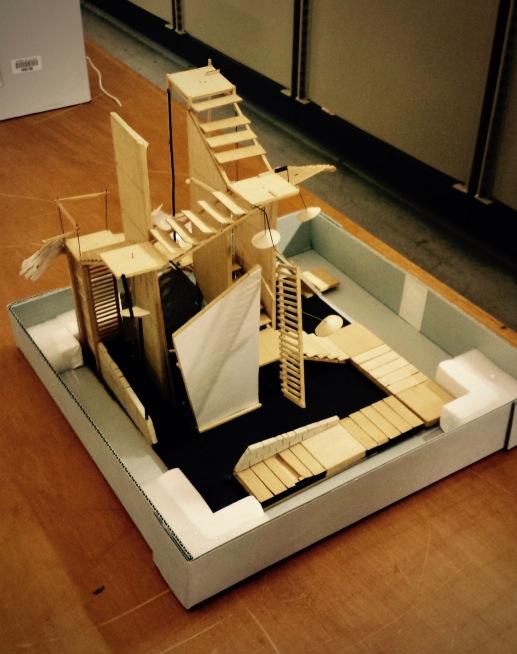 Nigel Triffitt's set model for Metamorphosis (1)