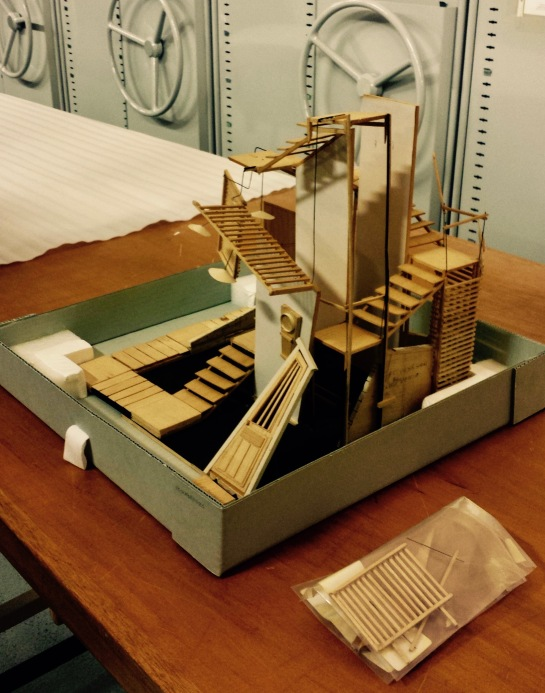 Nigel Triffitt's set model for Metamorphosis (2)